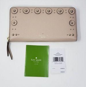 Brand New Kate Spade Zippy Wallet MSRP $229